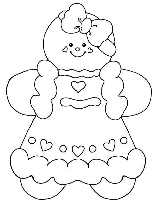 Gingerbread Man Drawing at GetDrawings | Free download