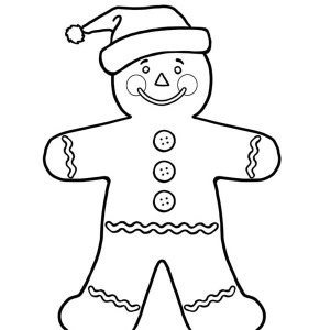 Gingerbread Man Drawing at GetDrawingscom Free for personal use