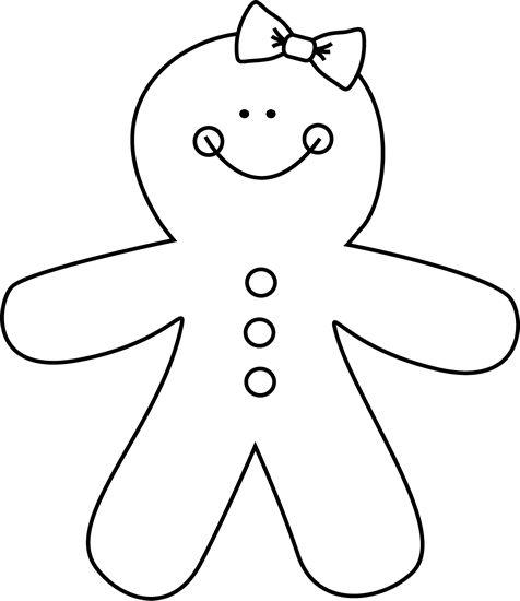 476x550 Gingerbread Man Pain Clipart