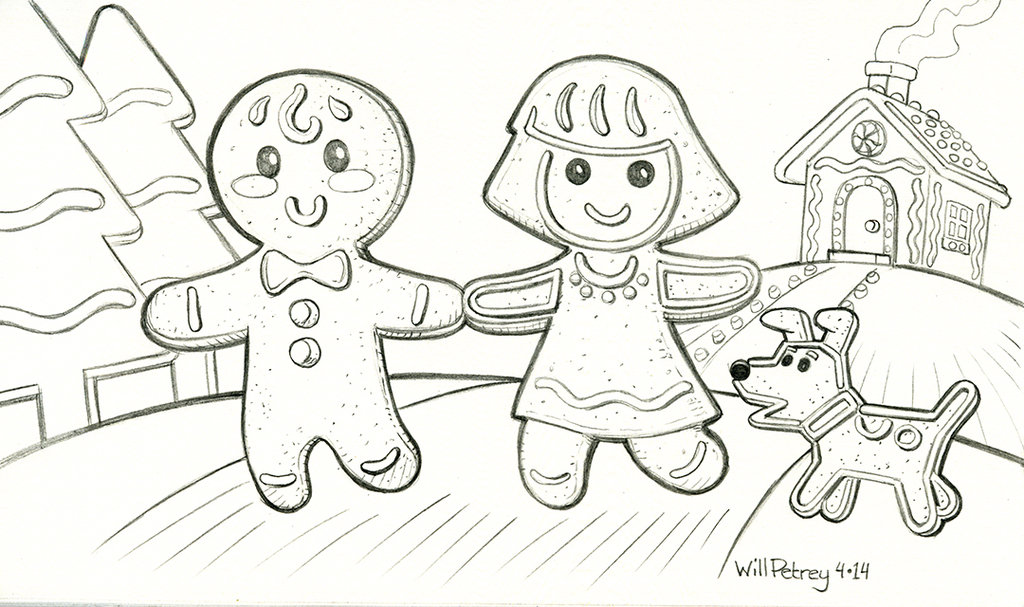 1024x607 The Gingerbread Man Family