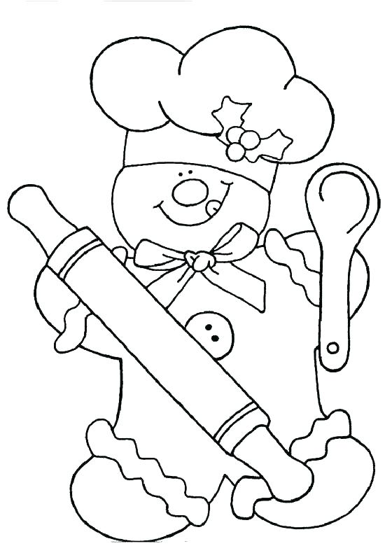 550x780 Picture Of Gingerbread Man To Color Joandco.co