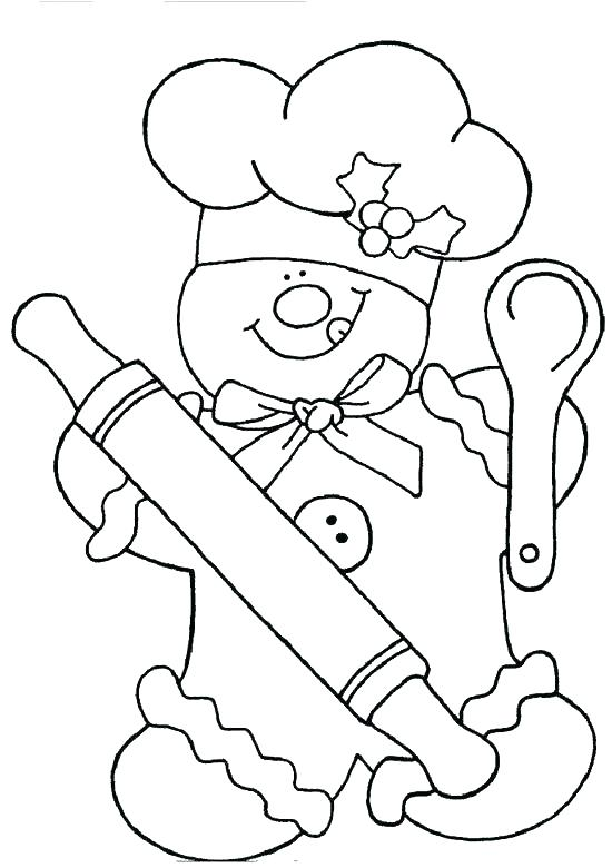 550x780 Free Gingerbread Coloring Pages Free Gingerbread Boy Girl