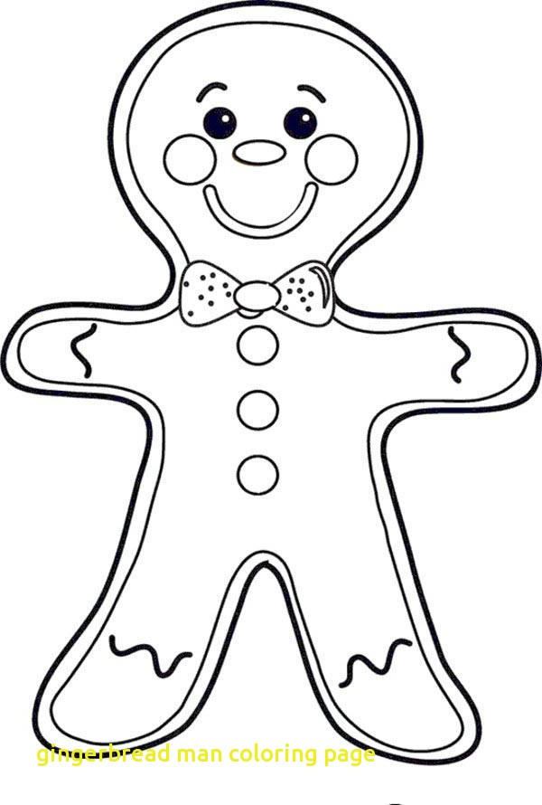 600x890 Gingerbread Man Coloring Page With Gingerbread Man Coloring Pages