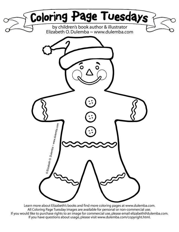 736x952 Gingerbread Man Coloring Sheets