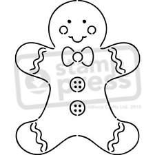 225x225 Gingerbread Man Stencil Ebay
