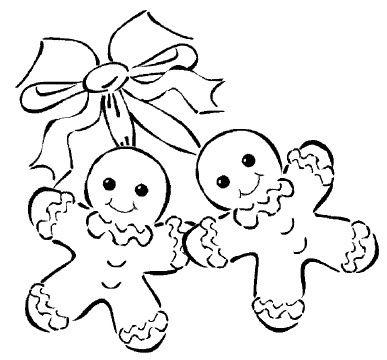 Gingerbread Men Drawing