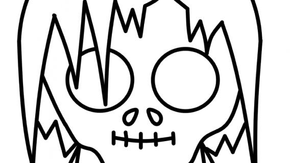 570x320 Easy Zombie Drawings How To Draw Zombie Gir Zombie Gir Step Step