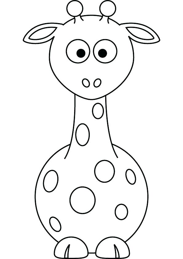 595x842 Giraffe Drawing Giraffe Drawing Baby Giraffe Cartoon Drawing Affan