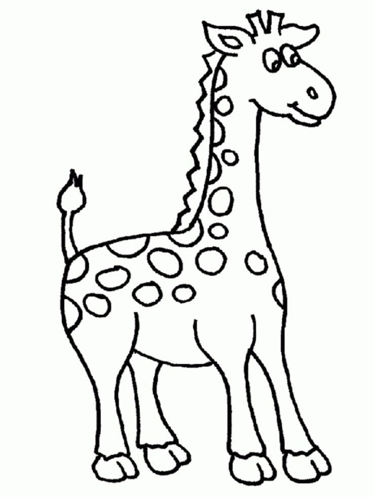 736x981 Mainstream Coloring Pictures Of Giraffes Cartoon Pages Hugging