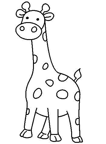 350x475 The Best How To Draw Giraffe Ideas On Easy Giraffe