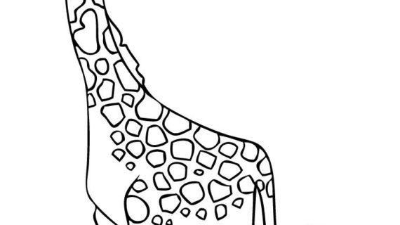 570x320 Cartoon Drawing Of A Giraffe How To Draw A Cartoon Giraffe, Step