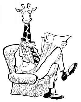 267x337 Funny Animated Giraffe Pictures