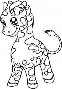 211x302 The Best How To Draw Giraffe Ideas On Easy Giraffe