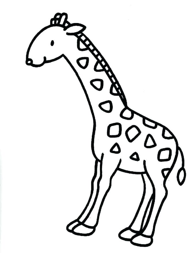 674x879 Giraffes Coloring Pages Giraffe Coloring Pages Cute Giraffe