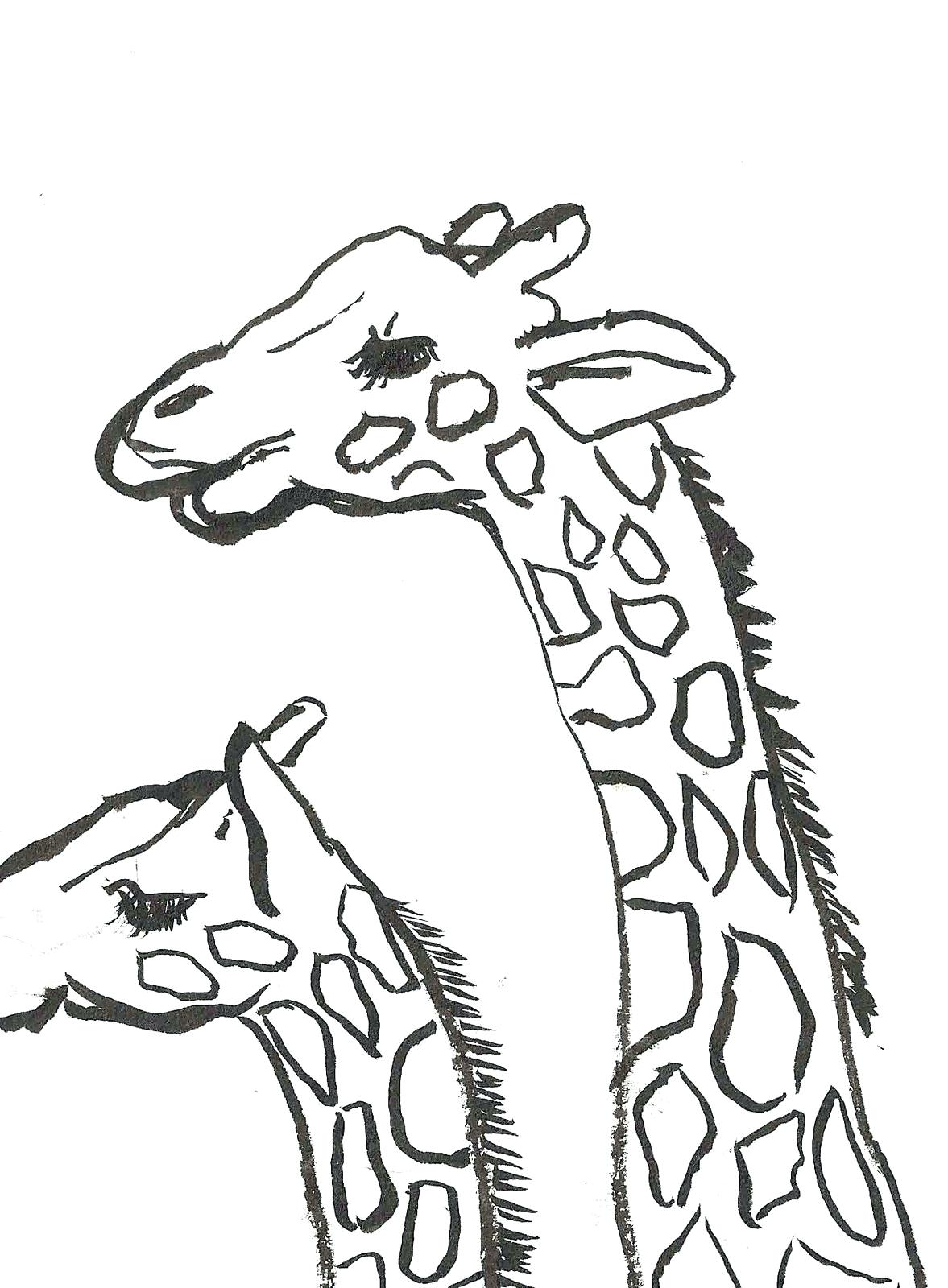 1177x1600 Coloring Baby Giraffe Coloring Pages