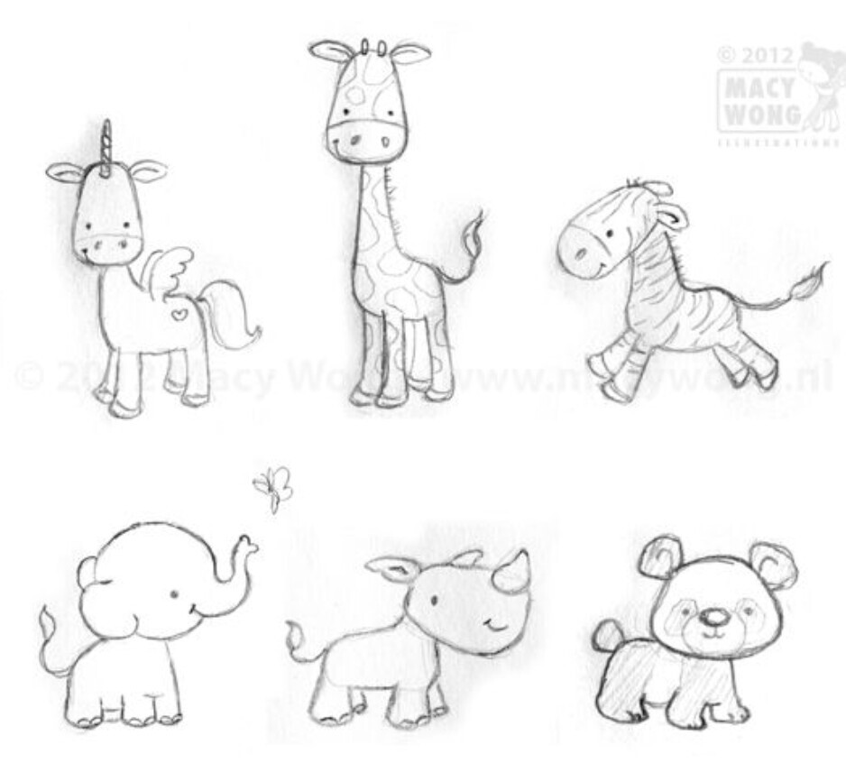 938x866 Animals Drawings Animal, Drawings And Doodles