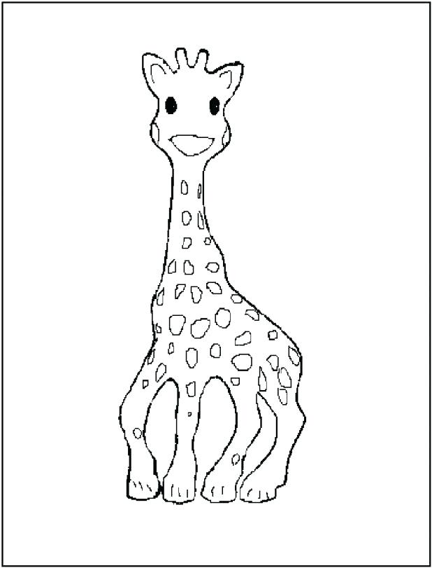 618x811 Cute Giraffe Coloring Pages Kid And Leopard Coloring Page Coloring
