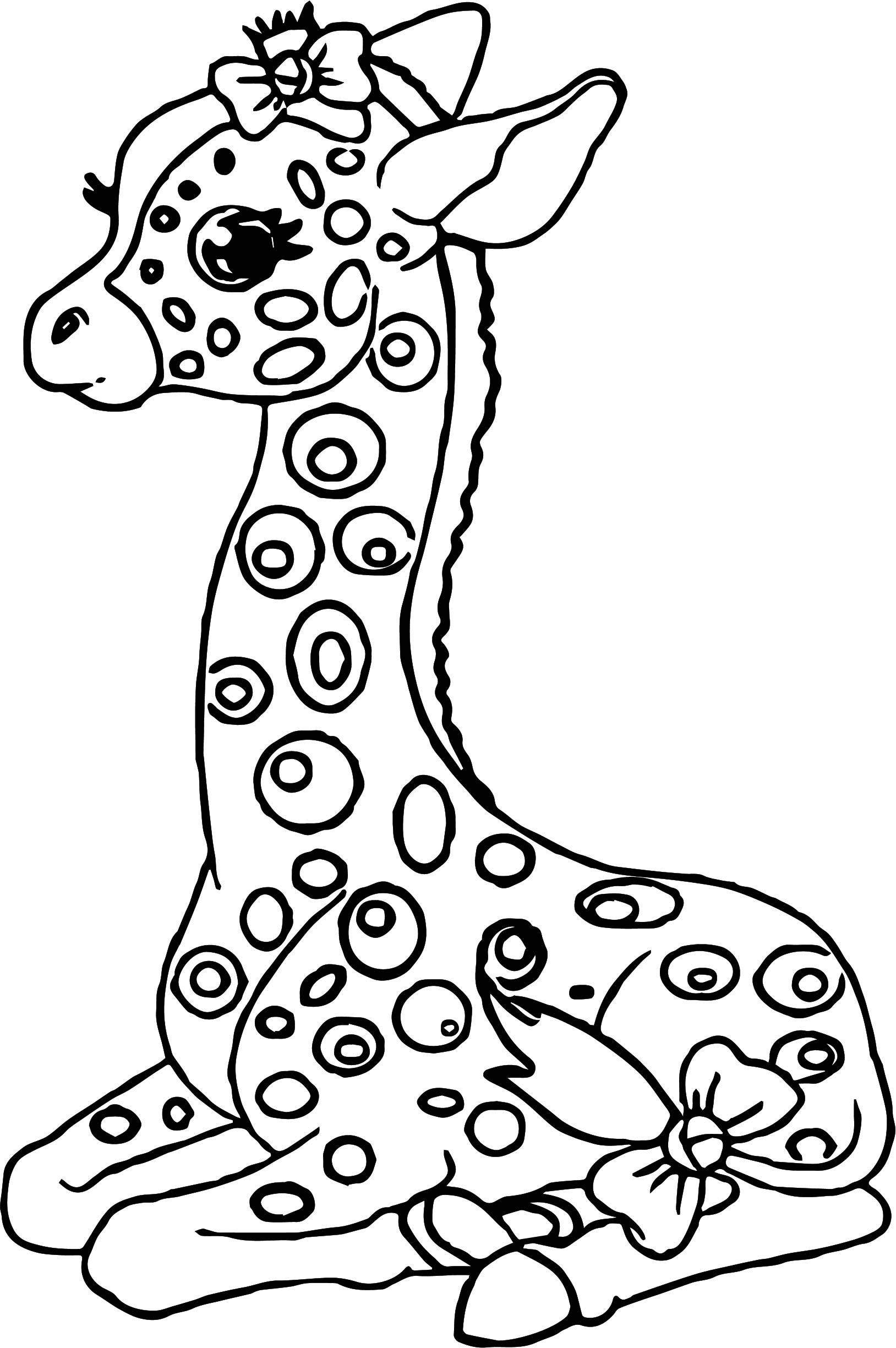 Giraffe Drawing For Kids at GetDrawings | Free download