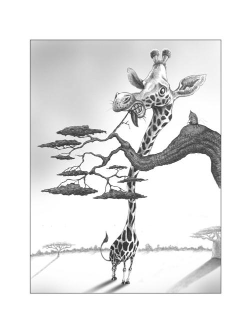 Giraffe Images Drawing