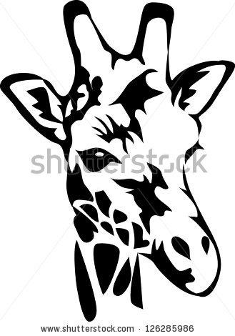 Giraffe Outline Drawing At Getdrawings Com