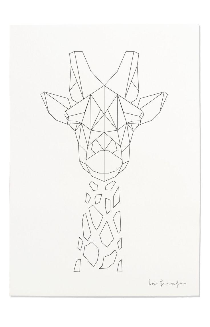 736x1144 Drawn Line Art Geometric