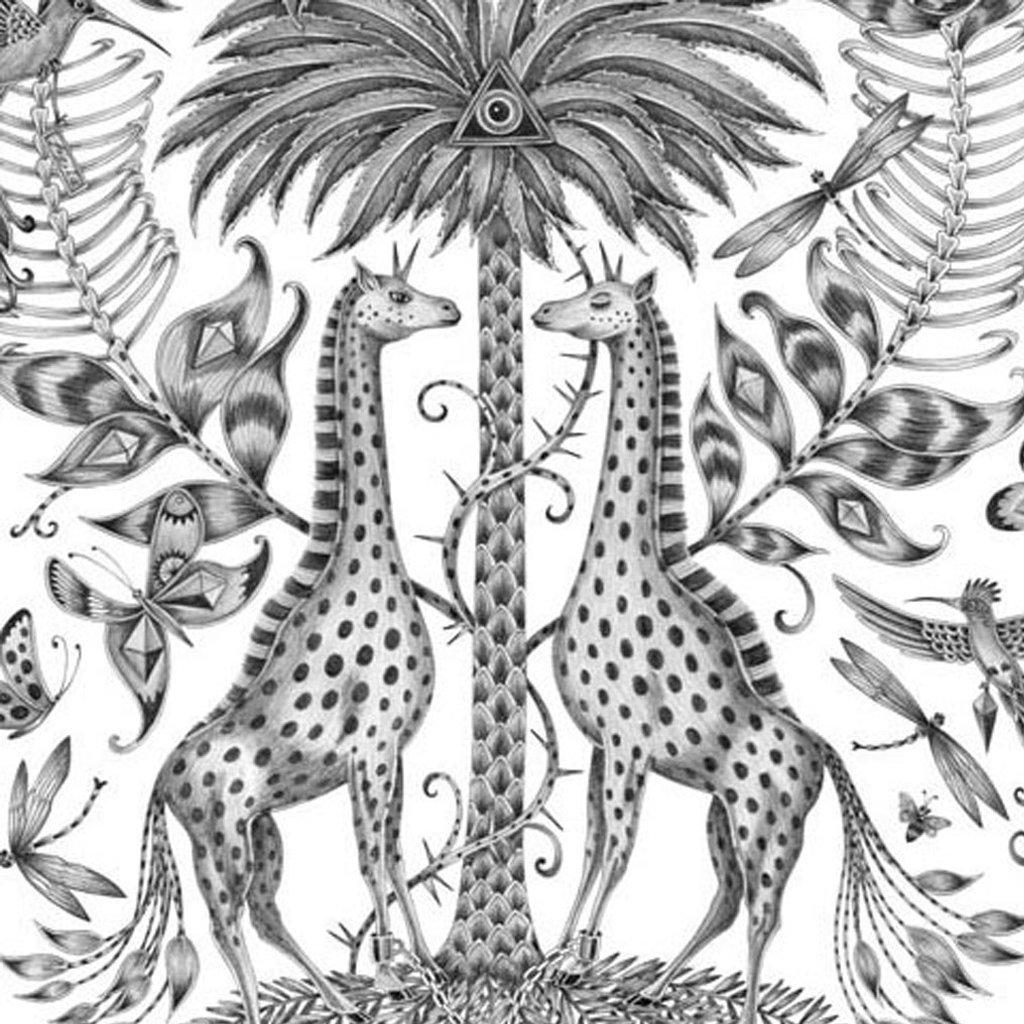 1024x1024 Giraffe Silk Pocket Square Emma J Shipley