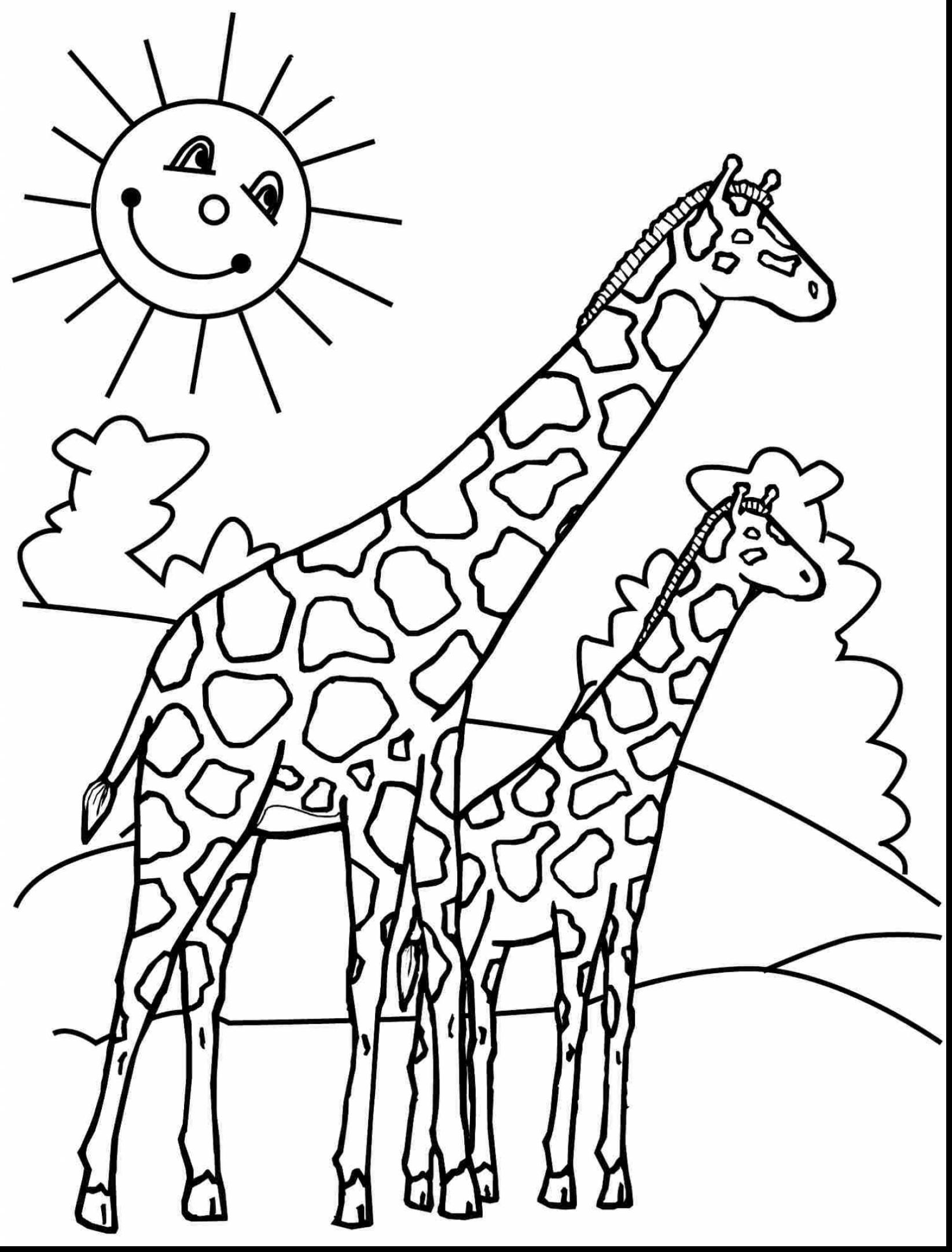 1645x2164 Happy Pictures Of Giraffes To Color 3