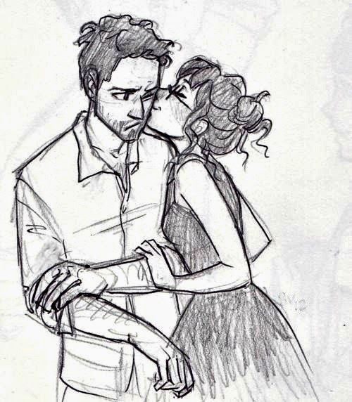 500x572 Photos Girl And Boy Sketches Picture,
