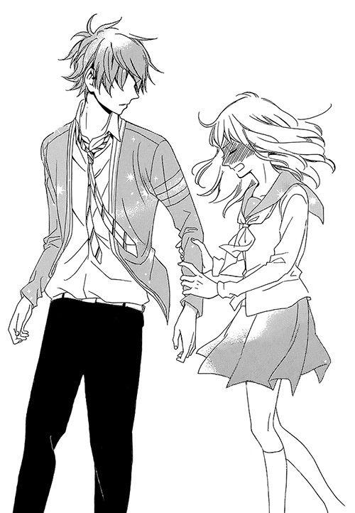 500x722 Anime Kiss Sketch