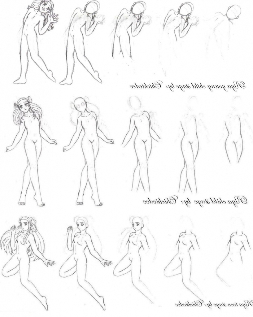 817x1024 How To Draw The Body Of A Teen Girl All Girls Body Drawing Images