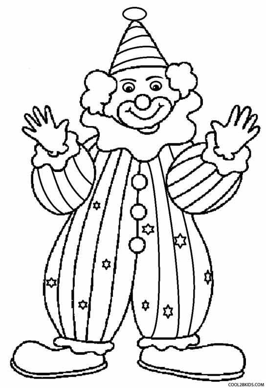 Girl Clown Drawing at GetDrawings
