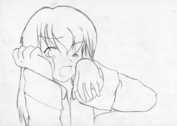 600x429 Another Crying Girl By Maho Ayano
