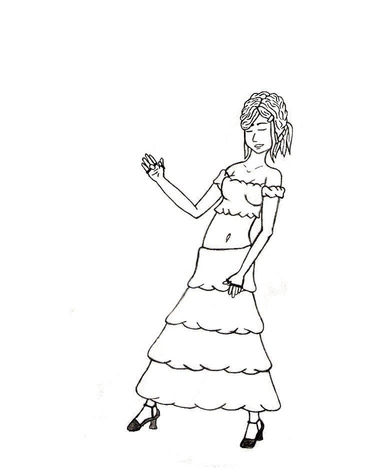 772x938 Dancing Girl