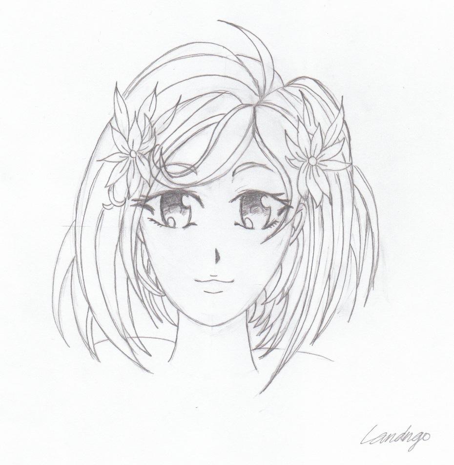 930x952 Teenage Girl Drawing Drawing Of A Teenage Girl