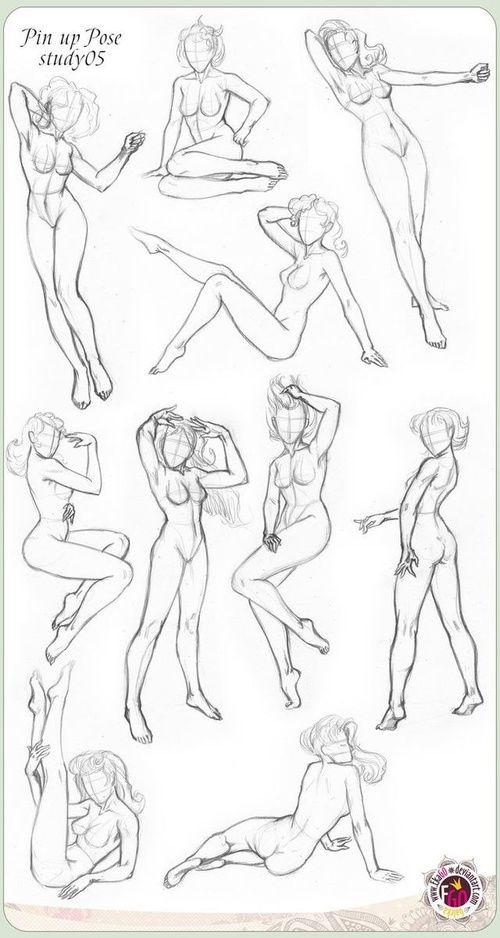 Girl Drawing Figure