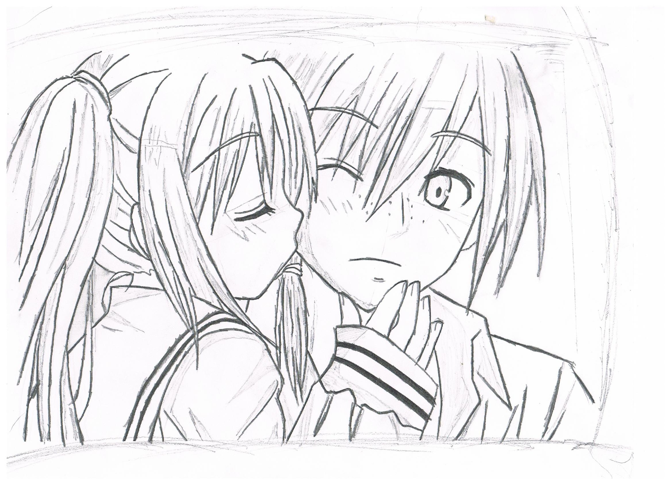 2338x1700 Black White Sketches Of Boy N Girl Friendship Boy Boy Pencil