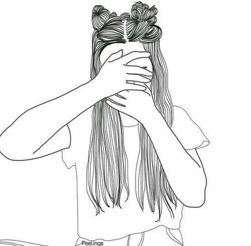 Girl Drawing Wallpaper