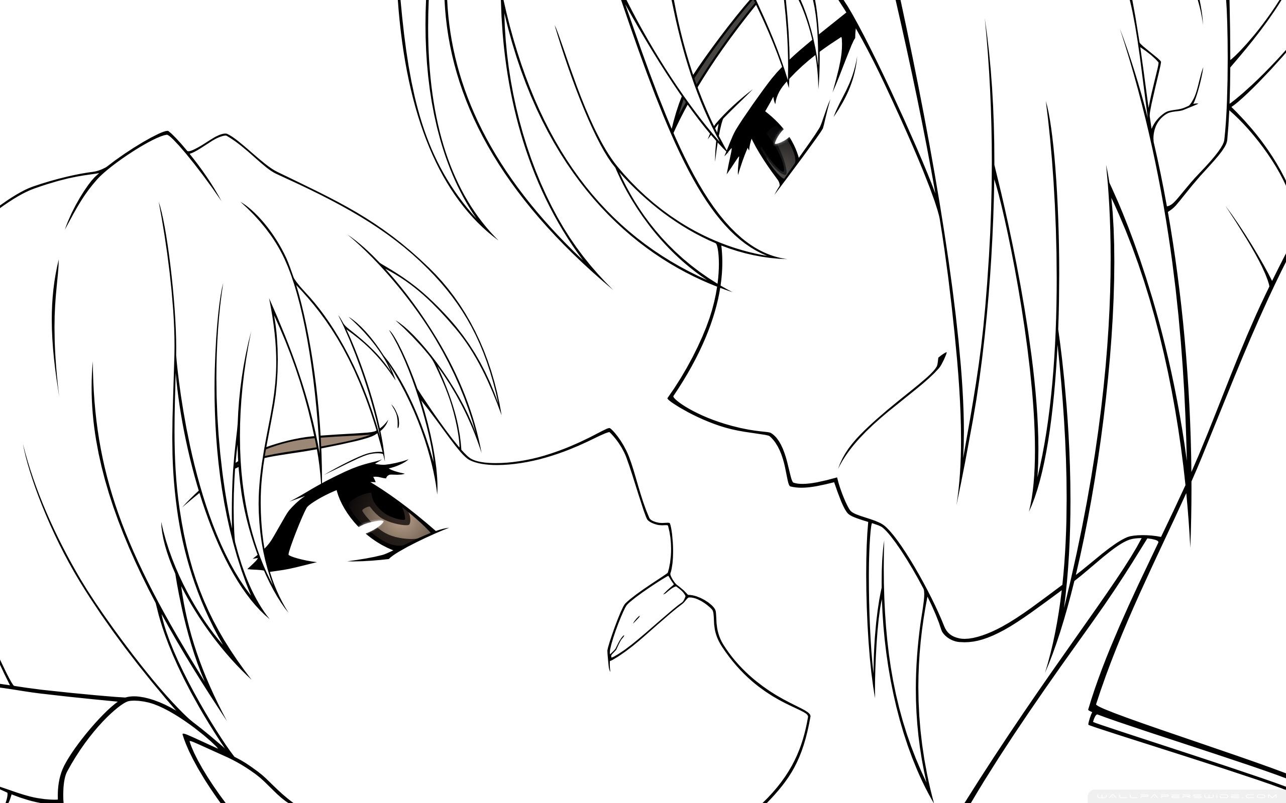2560x1600 2k Canaan Anime Drawing