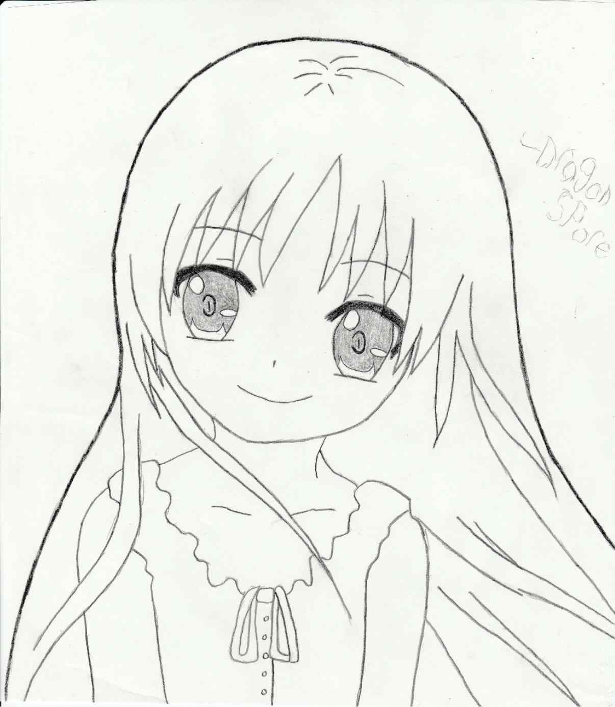 1206x1388 Sketches Girls For Ing Cute Animes To Draw Anime Sketches