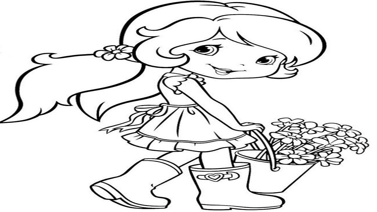 1280x720 How To Draw A Girl Easy Drawing Tutorial