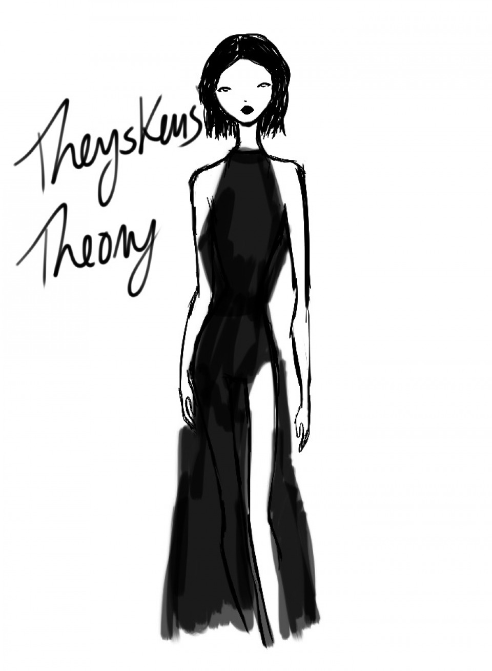 960x1309 Artist Rei Nadal Sketches Live From The Theysken's Theory Show