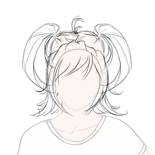 Girl Hairstyle Drawing At Getdrawings Com Free For Personal Use