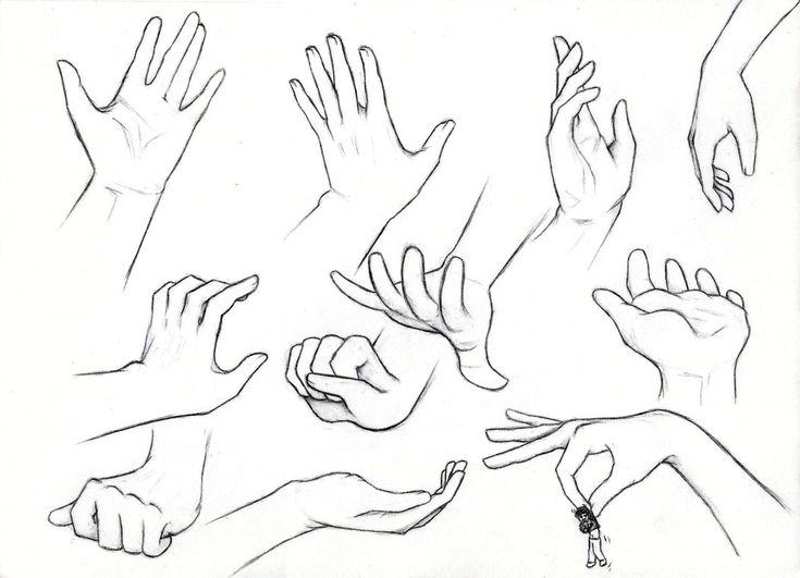 Girl Hand Drawing