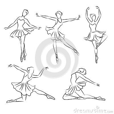 400x400 Drawn Ballet Hand Drawn