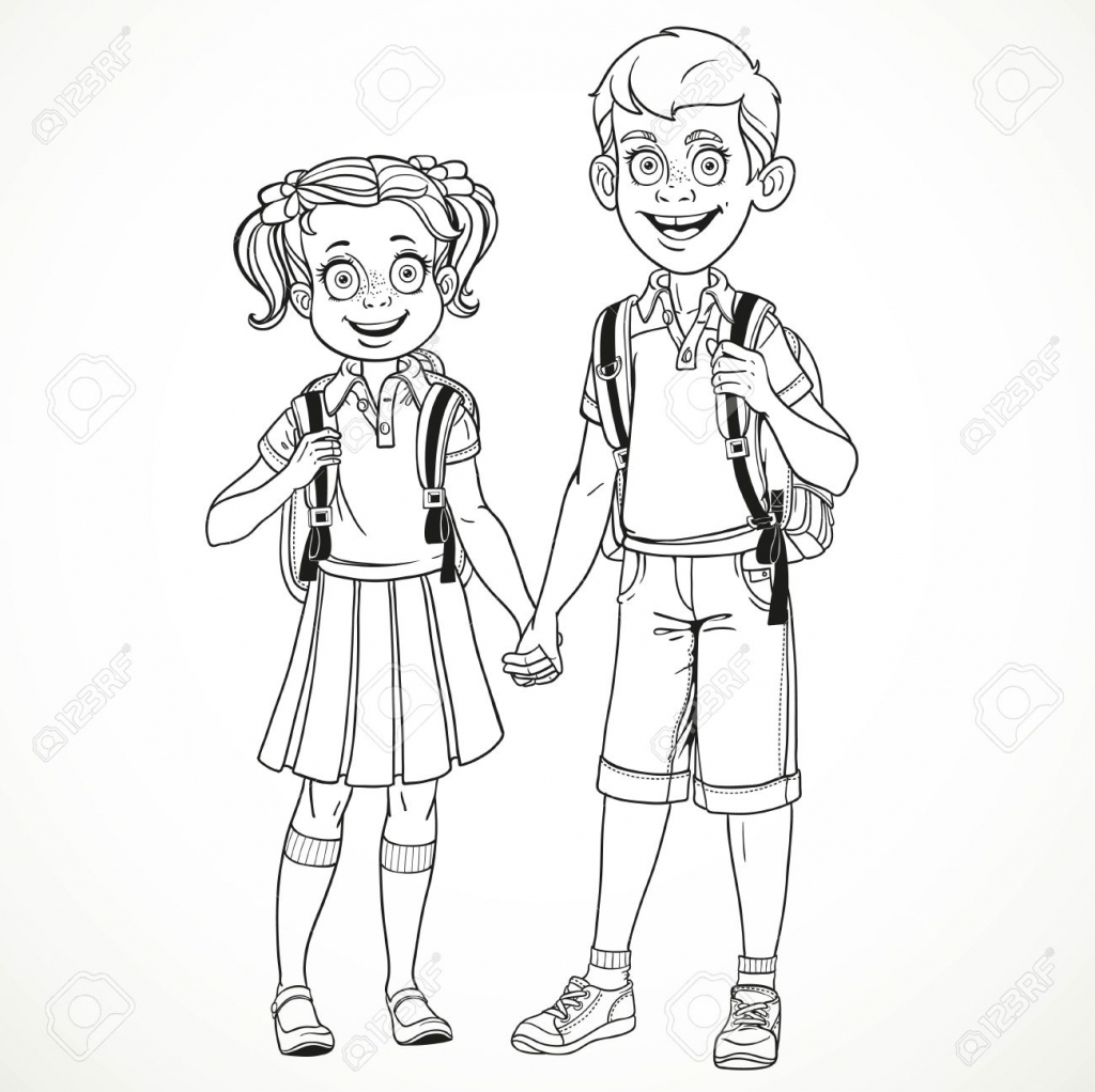 1024x1022 Drawing Of A Boy And Girl Boy And Girl Hugging Amazing Drawing