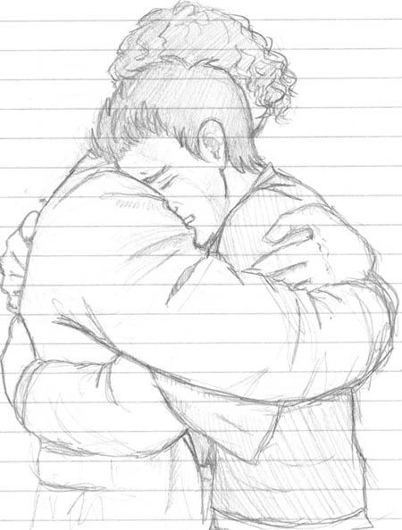 450x594 Drawn Hug