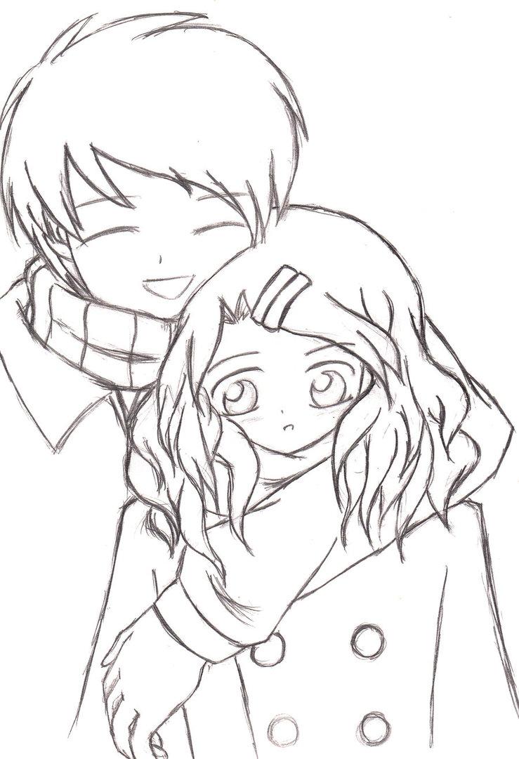 739x1081 A Heartwarming Hug (Sketch 2008) By Keymace101