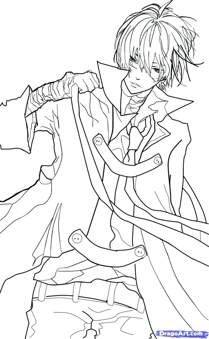 835x1349 Coloring Coloring Page Boy Anime And Girl Hugging Pages Boys Home
