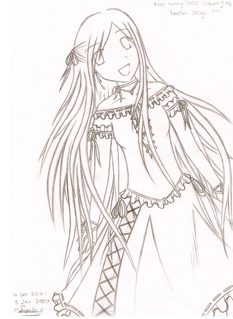 800x1098 Girl In Fancy Dress By Yuki Lover611