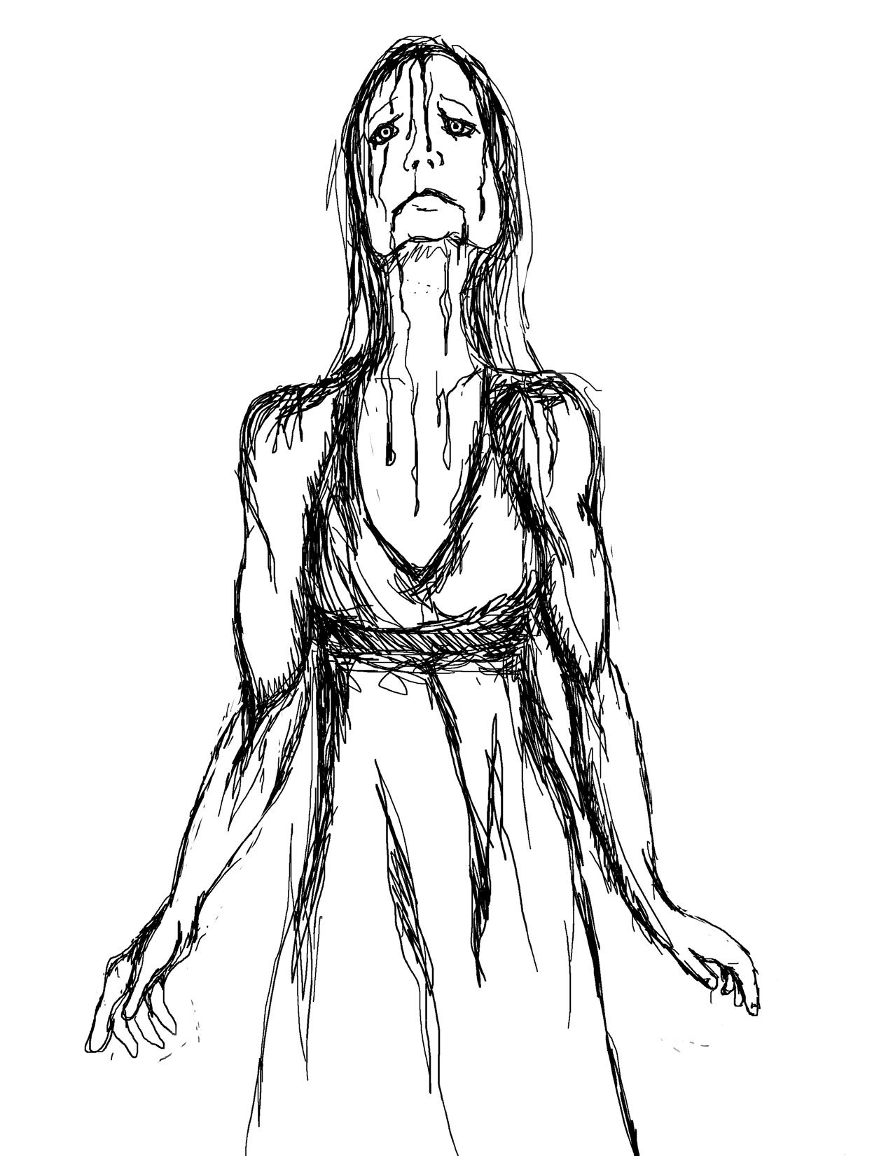 1275x1650 Draw Prom Dress Fashion Dresses